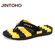 JINTOHO Big Size Summer Slippers Flip Flop Shoes Fashion Men Sandals Brand Male Massage Slippers Beach Slide Shoes Water Shoes(China)