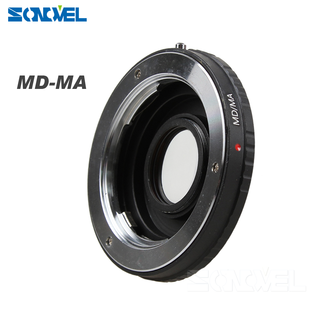 Lens Adapter Suit Minolta MD MC Lens Minolta MA & Sony Alpha Mount Adapter (MD-MA) Optical Glas s