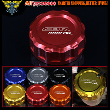 Motorcycle CNC Rear Brake Fluid Reservoir Cover Cap For Honda CBR 1000 RR/CBR 1000 RR C-ABS 2008-UP 2012 2013 2014 2015 2016