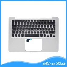 "New Topcase for Macbook Pro Retina 13"" A1502 top case with FR French keyboard Year 2015"