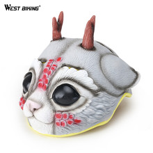 WEST BIKING Cartoon Helmet For Children Ultralight Safety EPS Material Safety Bicycle Helmet Kids Cute Bike Bicycle Helmets(China)