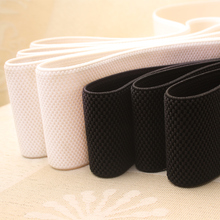 5-7cm Wide Corn Grain Trousers Elastic Ribbon Waistband Thickening Latex Webbing Elastic Band Bags' Sewing Cloth(China)
