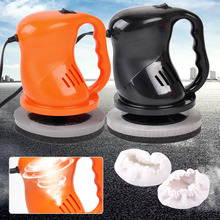 DWCX Cars Mini Breads Electric Car Polishing Buffing Waxing Machine Home Outdoor Waxer Polisher 12V 40W For Polishing and Waxing(China)