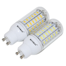 Home Decoration 5730 SMD GU10 LED bulb 24-90Leds LED Lamp 5730SMD corn Light bombillas Chandelier better than 5050 2835 lampada(China)