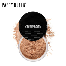 Party Queen Superfine Sheer Loose Setting Powder Ultra Definition Oil-Control Fix Powder With Puff Makeup Lasting Face Finishing