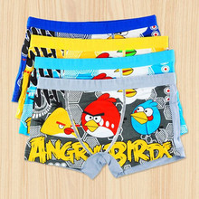 Briefs For Boys 2017 New Cartoon Printing Children Briefs Boys Panties Children Boys Boxer Kids Short Brief Boys Underwear(China)
