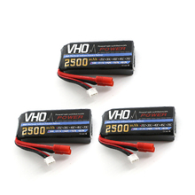 VHO Power Syma X8W RC Drone Lipo Battery 3pcs 2S 7.4v 2500mAh For Syma X8A X8C X8W X8G X8HC X8HW X8HG RC helicopter Spare Parts(China)