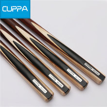 New Arrival Cuppa 3/4 Snooker Cues Stick Billiard 9.8mm/11.5 mm Tip China High Quality 2016