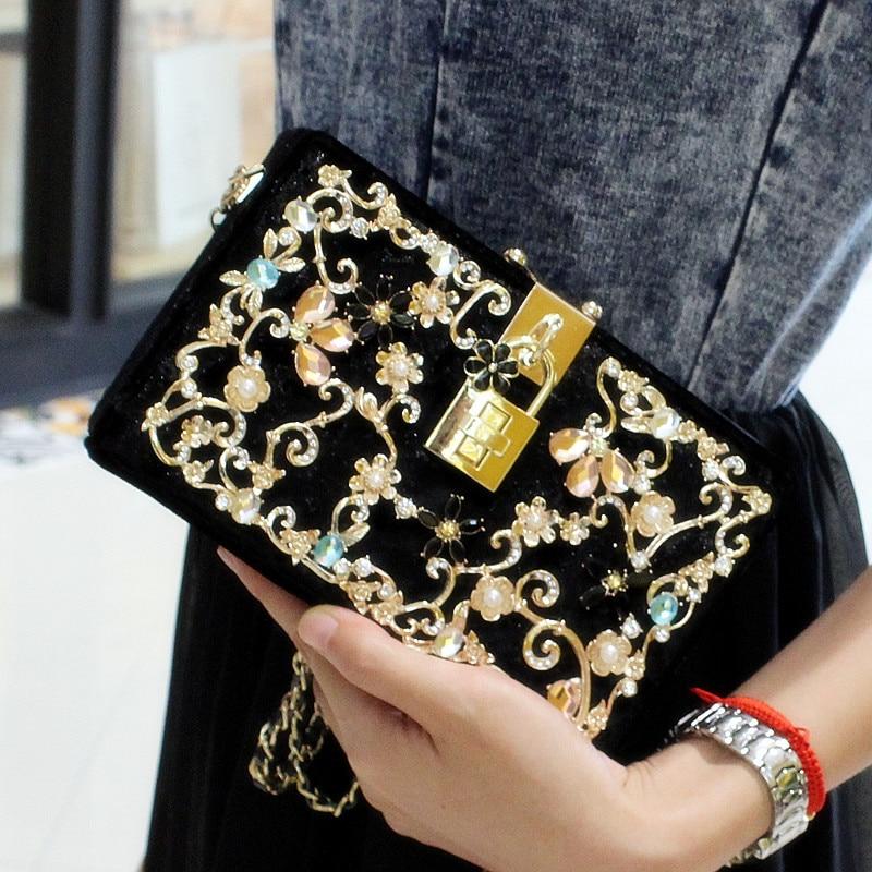 High Quality Lady Messenger Bag For Formal Evening Party Fashion Clutch Banquet Bags Handbags Women Famous Brands Bolsa Feminina<br><br>Aliexpress