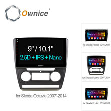 "Ownice C500+ 10.1"" Octa Octa core Android 6.0 Car DVD Player GPS Navigation for Skoda Octavia 2007 2008 KODIAQ 4G SIM TPMS DAB+(China)"