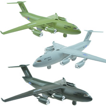 C17 Large transport aircraft,alloy Pull back Airplane model Toy Vehicles , Diecasts Airplanes toys, free shipping