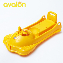 AVALON Multi-function Sled  Snow Sledge Kids Thicken HDPE Material Sleigh For Snow Plastic Snow Sled XQ01