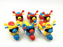 12PCS Cool Mini Inertial Motorcycle Small Toy/Children Motorcycle Toy