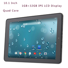 New Design 10.1 inch Android 5.0 Dual Core Tablets Pc 1GB 32GB 1280*800 IPS Definition LCD Dual camera support Google Market