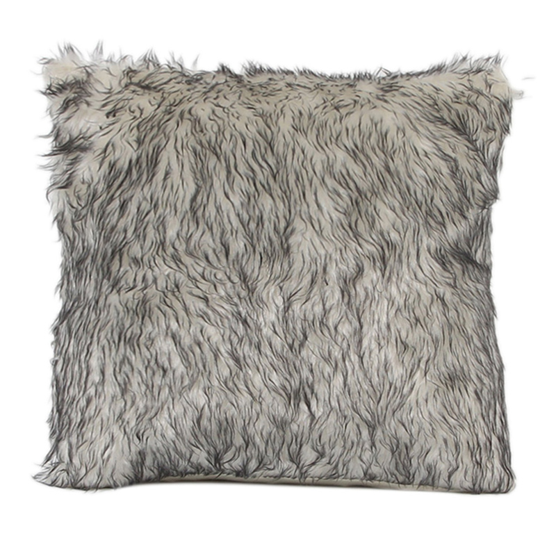 Soft Fur Plush Throw Pillow Cases
