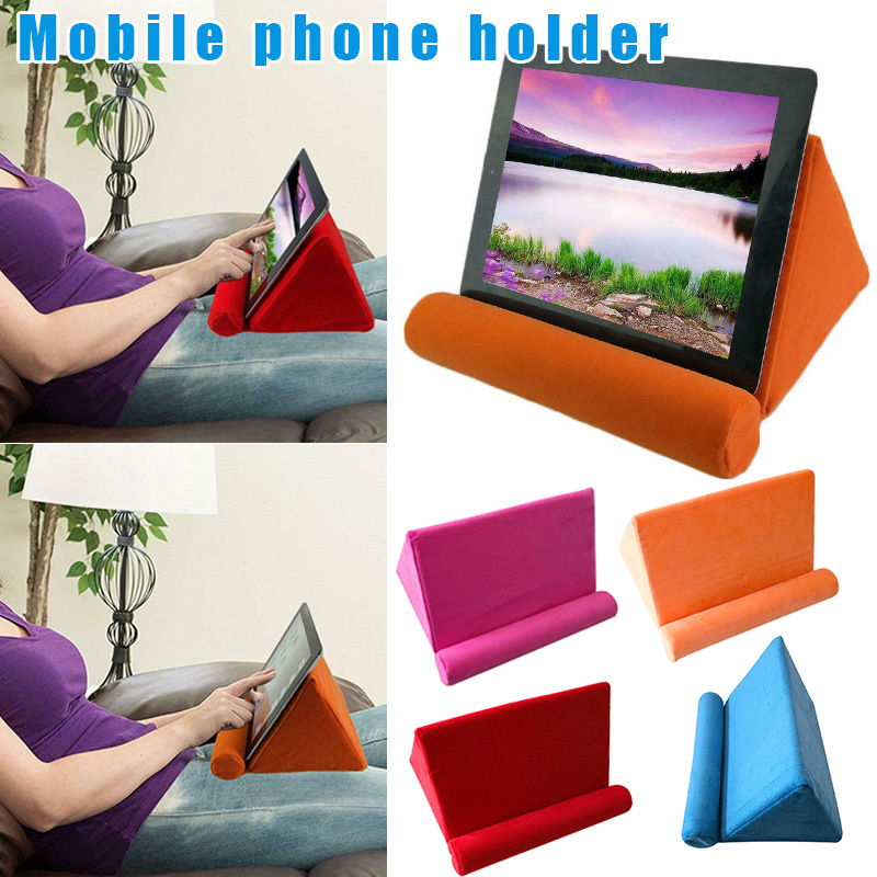 Soft Tablet Pillow Holder Stand Book Rest Support Cushion for iPad Mobile Phone