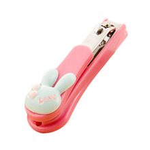 1 Pc! Cute Nail Clipper Cartoon Rubbit Nail Clippers Nail Scissors  Unha Trimmer Creative Home Animals Random Color!