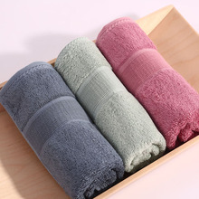 1pcs bamboo microfiber fabric face Towels hotel cheap beach bathroom luxury towels toalha de  strandlaken solid colors