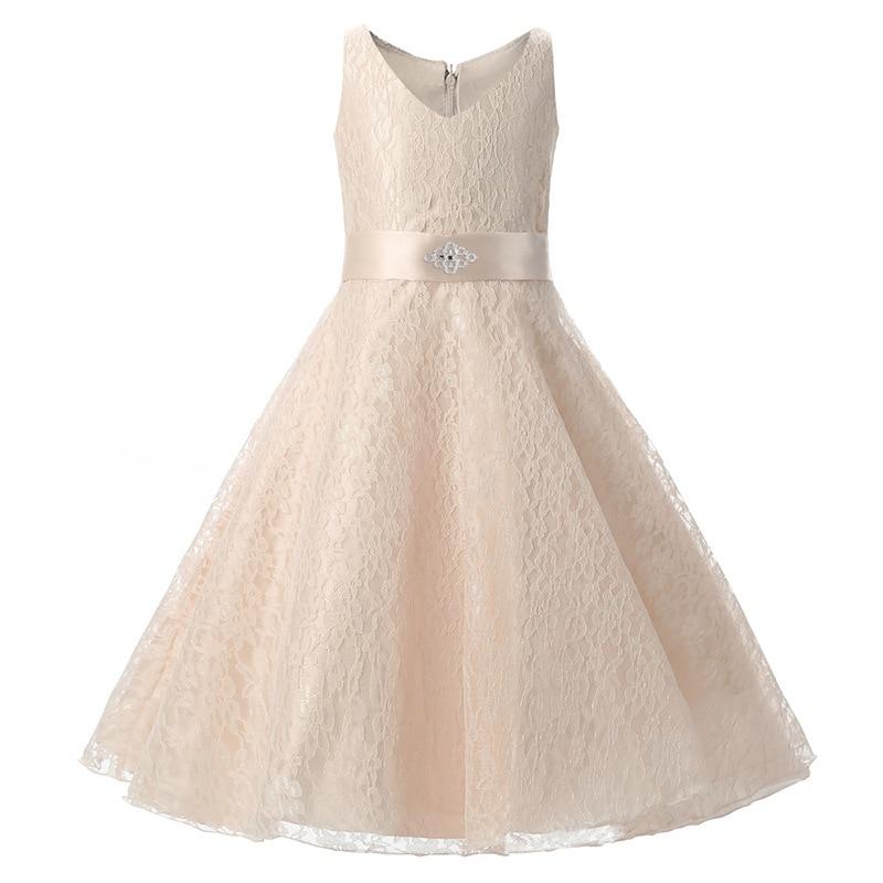 Fashion kids gold formal evening gowns children girls short evening dresses knee length<br><br>Aliexpress