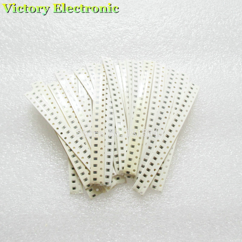 100% New SMD Resistance 500PCS/Set 0805 Resistor Kit 15K-220K 5% 25Kinds Wholesale Electronic Chip Resistors Combination set(China)