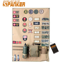 EXCELLENT ELITE SPANKER Outdoor Military Post Chapter Hunting Army Patches Badge Fabric Stickers Cloth Tactical Accessories(China)