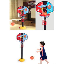 Funny Kids Basketball Stand Outdoor Indoor Sports Adjustable Basketball Stand Super Sport Set Child Toy