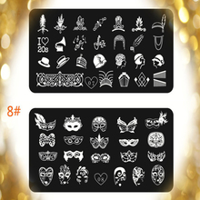 nail art templates nails stamping plates 3d for nail art with steel series fingernail stamps plates lace placa para carimbo de u