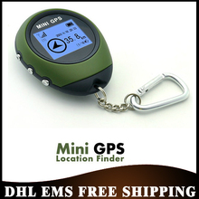 Free DHL EMS 20pcs/lot PG03 Handheld Mini GPS Navigation with Keychain USB Rechargeable For Outdoor Sport Travel,Wholesale