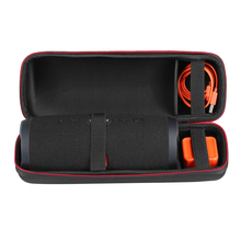 New PU Carry Travel Protective Speaker Cover Case Pouch Bag For JBL Charge 3 Extra Space for Plug & Cables (Not Include Speaker)