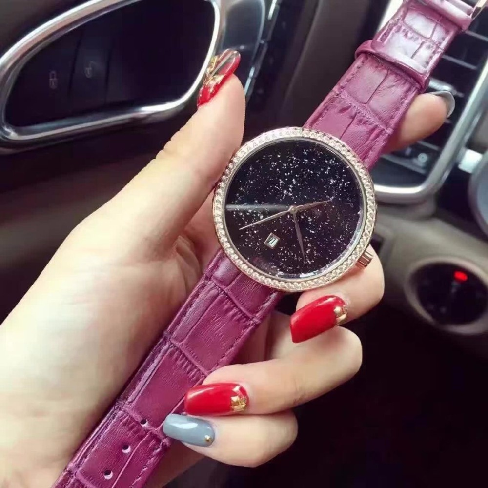 watch women luxury famous brand Elegant Wrist Watch Women New Arrival womens watches Girl Gift Full Crystal montre homme<br><br>Aliexpress