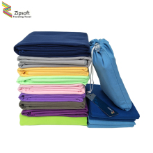 Zipsoft Microfiber Towels Beach towel Sports Bag Fast Drying Swimming Travel Gym Camping Lightweight Brand New Hot Yoga Mat 2017