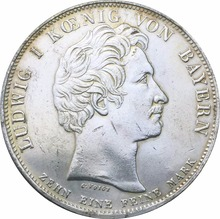 German States Coins 1828 THALER Copy Plating Silver Coin Blessings of Heaven on Royal Family