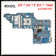 MOUGOL 682000-001 fit For HP DV7 DV7T DV7-7000 Laptop motherboard mainboard Discrete graphics 100% working Free Shipping(China)