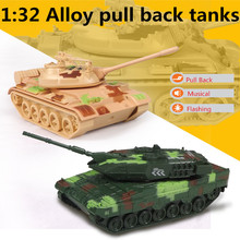 1:32 alloy pull back tanks,high simulation leopard 2 & T55 tanks model ,metal casting,toy tanks,musical & flashing,free shipping
