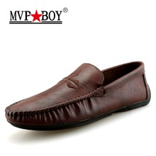 Buy MVP BOY Brand Men Loafers 2018 Spring New Slip Loafers Men Super Soft Summer Shoes Personality Moccasins Men Flat Shoes for $23.09 in AliExpress store
