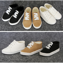 1Pair New BJD Doll Accessories 3Color Casual BJD Shoes 1/4 1/4(China)