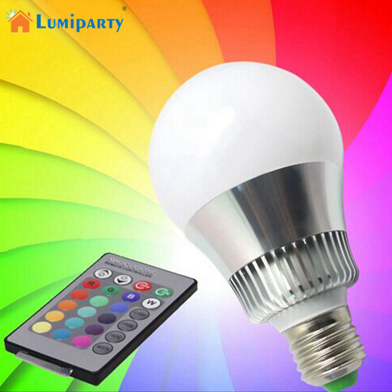 LumiParty E27 RGB LED Bulb Color Changing Led Lamps Indoor/Outdoor Party KTV Bance Ball Bar Commercial Use and Home Use(China (Mainland))