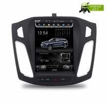 Enorme Android 6.0 Multimedias Del Coche DVD Headunit Estéreo Para Focus2012 + GPS de Navegación de Radio Auto Audio Video 2 GB RAM 32 Flash(China)