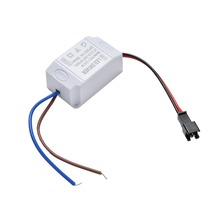 1PCS Transformer Electronic LED Power Supply Driver Adapter 3X1W Simple AC 85V-265V to DC 2V-12V 300mA LED Strip Driver