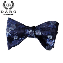 New Arrival Men's Fashion Bowtie Set With Handkerchief Tuxedo Classic Paisley Printed Color Butterfly Wedding Party Bow Tie --5