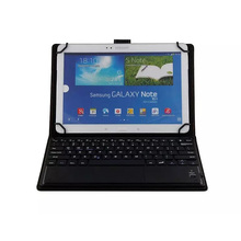 Universal Bluetooth Keyboard Case for 9-10 inch Tablet for Apple ipad for Samsung Microsoft Surface 3 with Touchscreen(China)