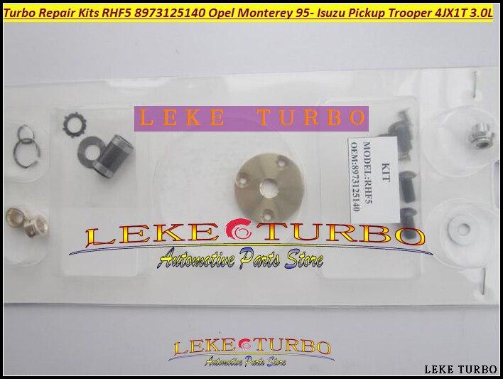 Turbo Repair Kit Rebuild kits RHF5 8971371098 8972503642 Hole distance=80mm Turbocharger For ISUZU Trooper Monterey 4JX1T 3.0L<br>