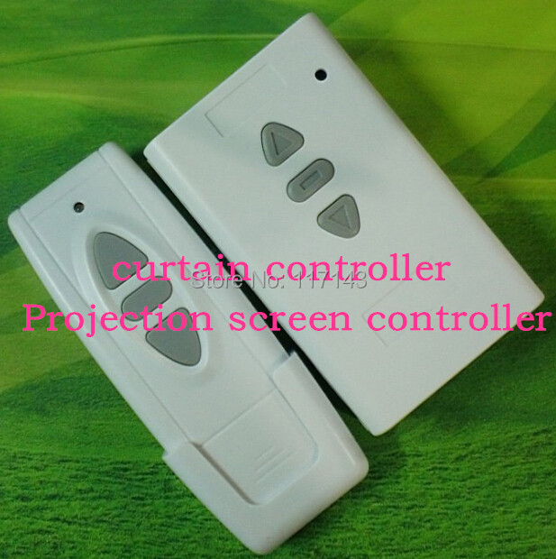 HOT! 2015 new 5pcs/lot The curtain controller Projection screen controller remote control system free shipping<br><br>Aliexpress