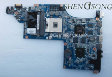615307-001 Free shipping laptop motherboard for HP Pavilion DV7-4000 DA0LX6MB6H1 605320-001 HM55 DDR3 HD5650 1G Support I7 CPU(China)