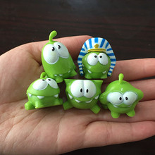 1Pcs Rope Frog Android Games Doll Cut The Rope OM NOM Candy Gulping Monster Toy Action Figure Child's Toys Gift(China)