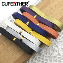 GUFEATHER P75/20MM Suede leather rope/jewelry accessories/cabochon/jewelry findings/diy accessories/cords/hand made(China)