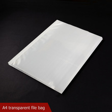 11 holes Elastic Presentation Folder binder A4 plastic document bag for transparent file folder sheet protector filing products