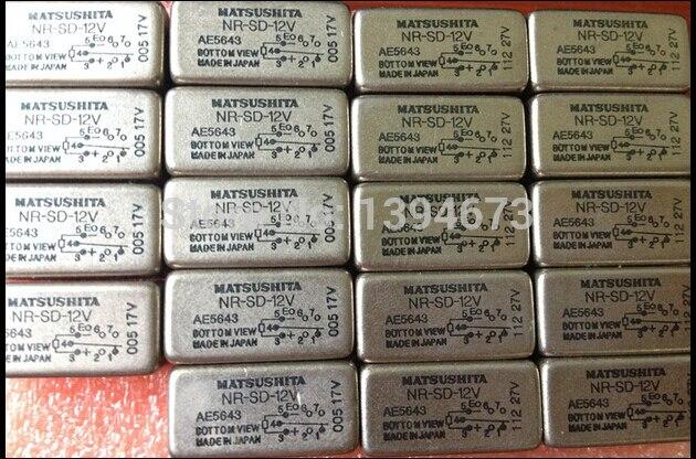 HOT NEW relay NR-SD-12V NRSD12V NR-SD 12V NR SD-12V NR-12V 12VDC DC12V 12V DIP8 2PCS/LOT<br><br>Aliexpress