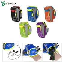 "Tanluhu Outdoor Sport Running Arm Bag Wrist Pouch Exercise Jogging Gym Adjustable Waterproof Phone Armband for 6.0"" Smartphone"