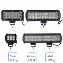 OFFROAD 18W 36W 54W 72W LED WORK LIGHT BAR CAR ATV MOTORCYCLE BOAT 4X4 4WD PICKUP WAGON TRUCK ATV SUV UTV DRIVING LAMP 12V 24V(China)